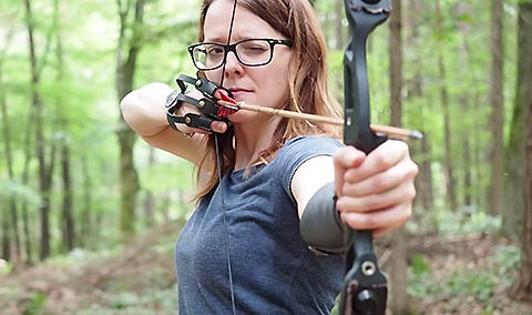 Survival Lilly: Silencing A Recurve Bow