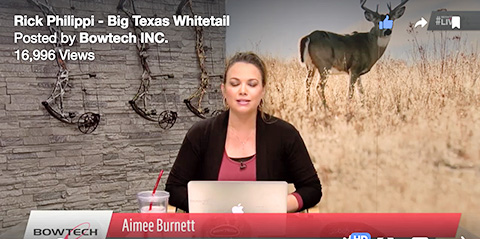 BowTech Live Host Aimee Burnett Interviews Rick Philippi