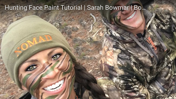 How-To Camo Face Paint