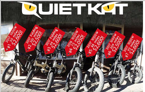 SALE: QuietKat Off Road Electric Vehicles