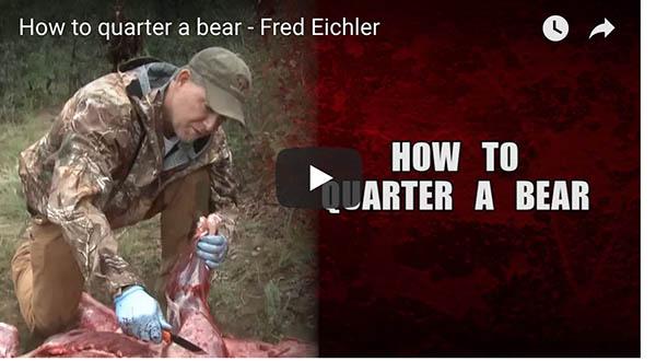 Fred Eichler: How To Quarter A Bear
