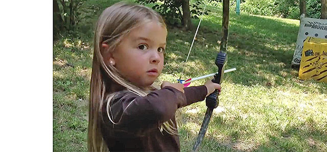 Girls Wanna Have Fun, And Shoot Arrows