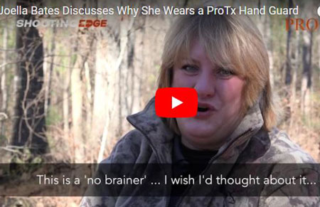 Joella Bates: Why I Wear a ProTx Hand Guard