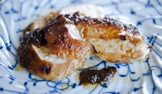 Whiskey Glazed Wild Turkey Breast