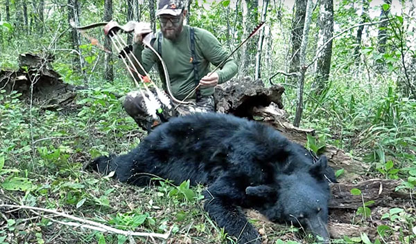 Waterhole Wilderness Recurve Bear Hunt