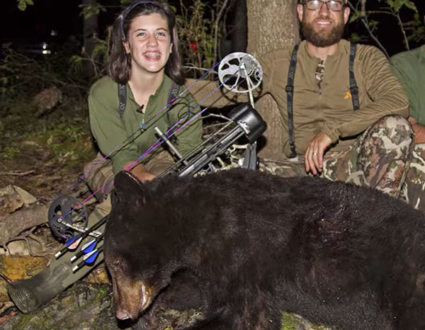 13 Year Old Girl: She's A Bearhunter, Noodler And Down Right Inspiring