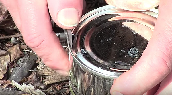 How To Open Cans In Camp
