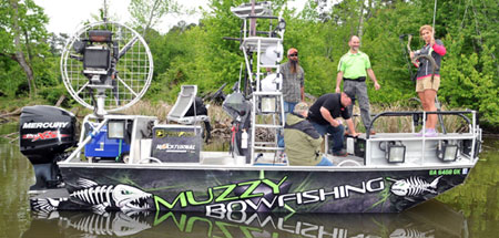 Muzzy Bowfishing Frenzy at 2018 P&Y Rendezvous