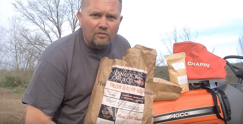 how to plant food plot