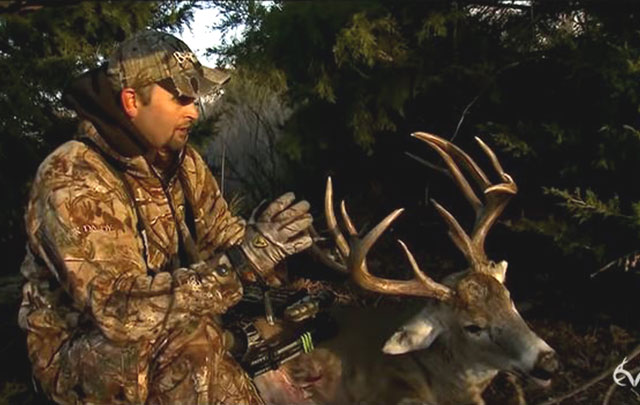 Michael Waddell's Biggest Buck Ever