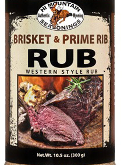 New Brisket & Prime Rib Rub from Hi Mountain Seasonings