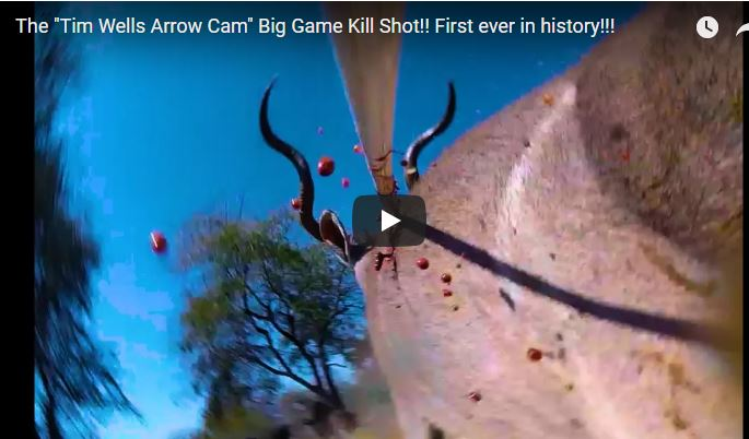 Tim Wells Arrow Cam – First Big Game Kill Shot!