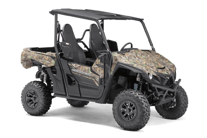 New Yamaha Wolverine X2 Side-by-Side in Realtree EDGE