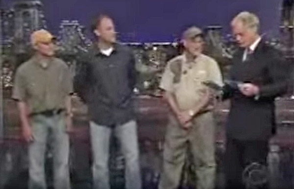 Preston Pittman Turkey Calling On Dave Letterman