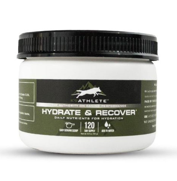 New From Wilderness Athlete: K9Athlete Hydrate & Recover