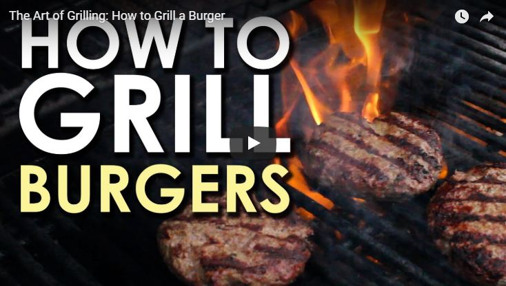 The Art of Grilling a Burger