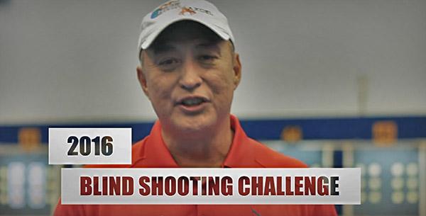 Brady Ellison vs Toja Cerne: Blindfolded Archery Challenge.