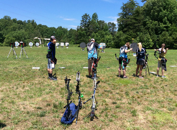 USA Archery North Carolina Outdoor State Championship