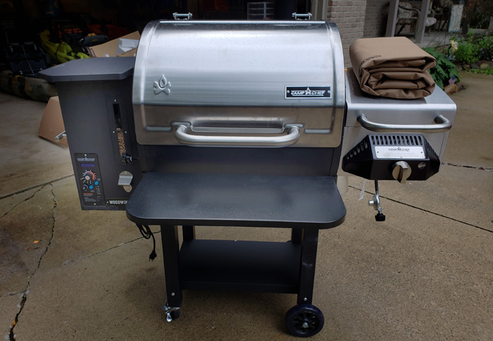 gear review: camp chef woodwind sg grill | bowhunting