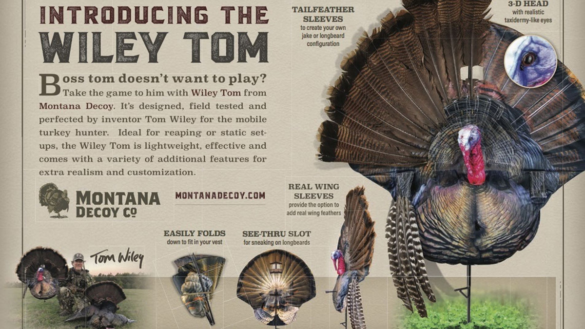 The WILEY TOM: For Mobile Turkey Hunters