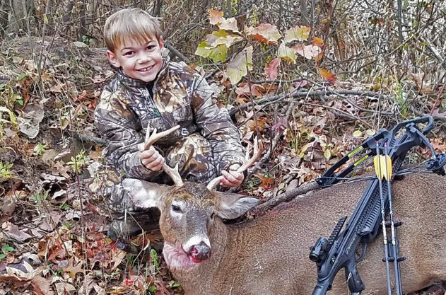 The Young Archer: Jace's Pepperoni Birthday Buck