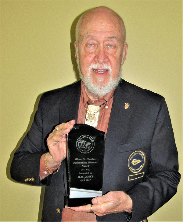 M.R. James Receives Glenn St. Charles Outstanding Member Award
