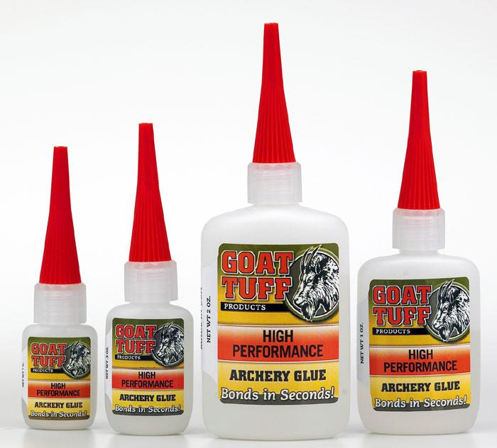 Goat Tuff: Glues for Faster, Easier, Stronger Fletching
