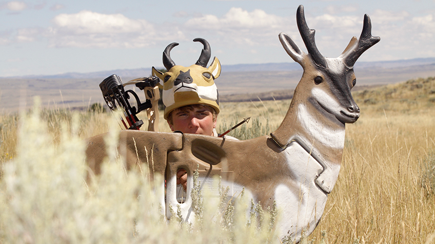 Pronghorn Bowhunting: Set Your Watch For Max Action