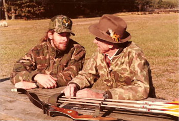 Ted Nugent and Fred Bear
